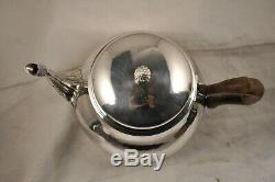 Theiere Ancien Argent Massif Mo Lapar Antique Solid Silver Tea Pot 502gr