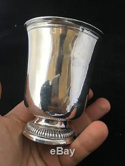 Timbale Argent Massif 18 ème XVIII Silver Cup Paris 1784