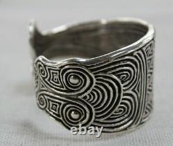 Toulhoat Bracelet Poissons Argent Massif Silver Bretagne Celtique