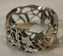 Toulhoat Bracelet Roses Des Sables Argent Massif Silver Bretagne Celtique