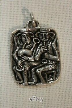 Toulhoat Grande Medaille Sonneurs Argent Massif Bretagne Celtique Silver