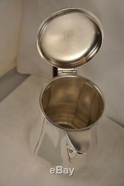 Verseuse Ancien Argent Massif Tetard Frs Antique Solid Silver Coffee Pot 590gr