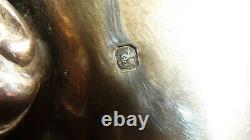 Verseuse Timbale Pot A Lait Argent Massif Cafetière Théière Silver Solid Tea-pot