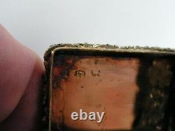 Vinaigrette Argent Vermeil Antique Silver Box John Thornton 1802 Birmingham