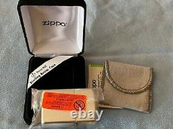 Zippo sterling silver Armor poli, briquet super élégant Argent massif N°26